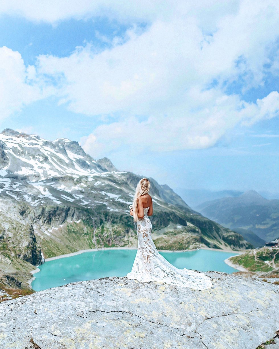 think gypsy with showpo bridal Weißsee Gletscherwelt
