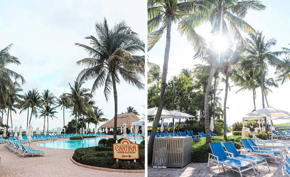 Ritz Carlton Key Biscayne family pool